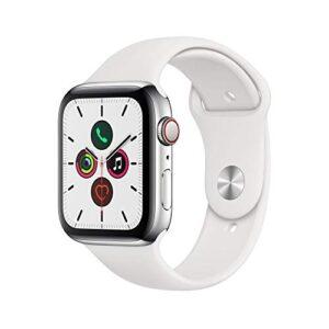 Mejores Comparativas Apple Watch Series 5 44mm Acero Inoxidable Si Quieres Comprar Con Garantía