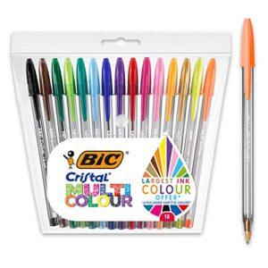 Comparativas Boligrafos Bic Colores Surtidos Si Quieres Comprar Con Garantía