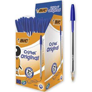 ¿necesitas Boligrafos Bic Azul En Oferta Mejor Precio De Internet