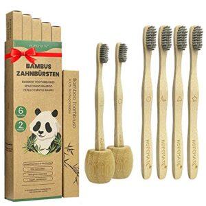 Comprueba Las Opiniones De Cepillos De Dientes De Bambú Con Cerdas De Carbón. Elige Con Criterio