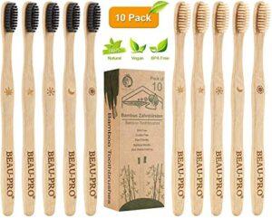 Chollos Y Valoraciones De Cepillos De Dientes De Bambú Negro