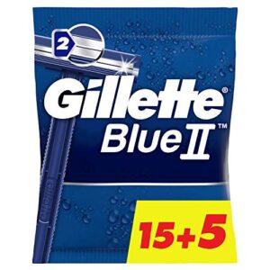Comparativas Cuchillas De Afeitar Gillette Blue Ii Para Comprar Con Garantía