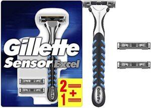 Comprar Cuchillas De Afeitar Gillette Sensor Excel Con Envío Gratuito A Domicilio En España