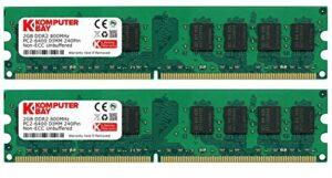 Memoria Ram Ddr2 4gb 800mhz Pc2 6400 Opiniones Reales De Otros Usuarios Este Año