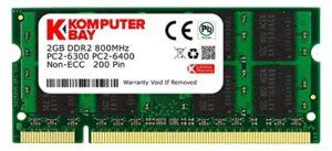 Comprar Memoria Ram Ddr2 4gb Laptop Con Envío Gratis A Domicilio En España