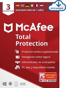 Comprar Antivirus Mcafee Total Protection Con Envío Gratuito A La Puerta De Tu Casa En Toda España