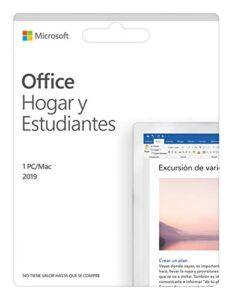 Descuentos Y Opiniones De Microsoft Office 2019 Hogar Y Estudiantes