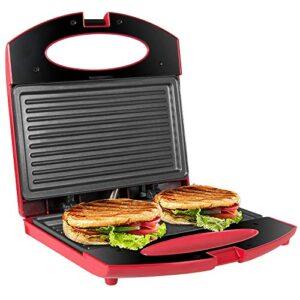 Comparativas Sandwicheras 4 Sandwich Roja Si Quieres Comprar Con Garantía