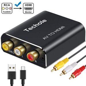 Mejores Comparativas Adaptadores Hdmi Para Tv Con Conectores De Colores Para Comprar Con Garantía