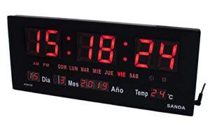 ¿necesitas Relojes Digitales De Pared Grandes Baratos Mejor Precio En Internet