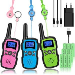 Mejores Comparativas Walkie Talkie Bateria Recargable Niños Si Quieres Comprar Con Garantía